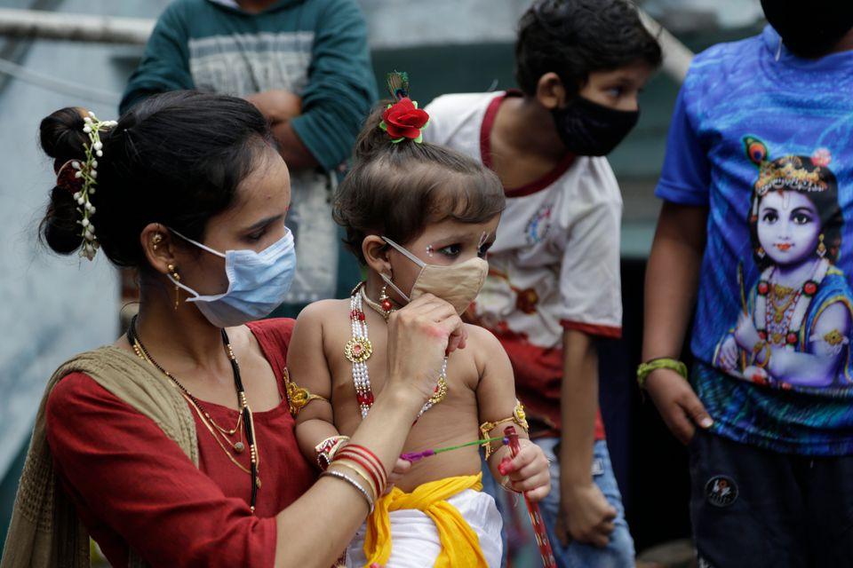 Εορτασμοί Τζανμαστάμι, Ινδία