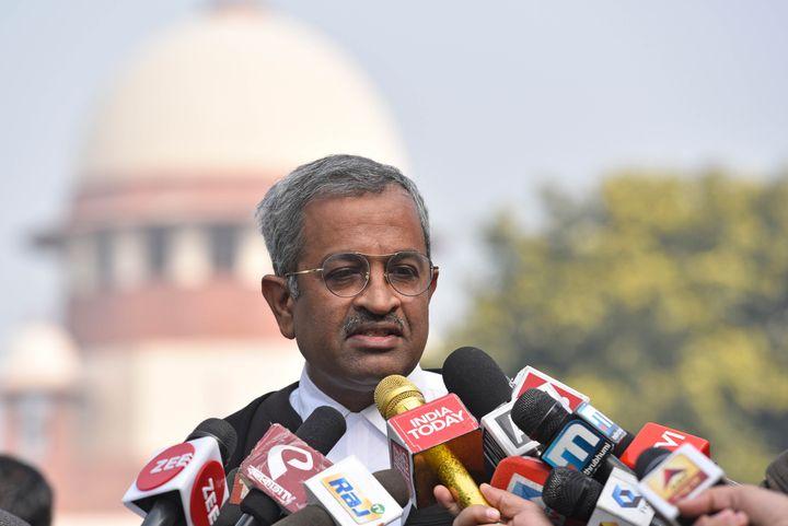 Senior Advocate Sanjay Hegde in a file photo.