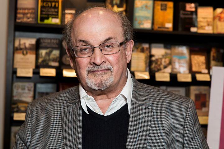 File image of Salman Rushdie.