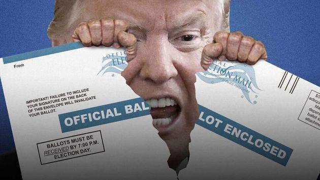 Si Trump controla el voto por correo, controla la