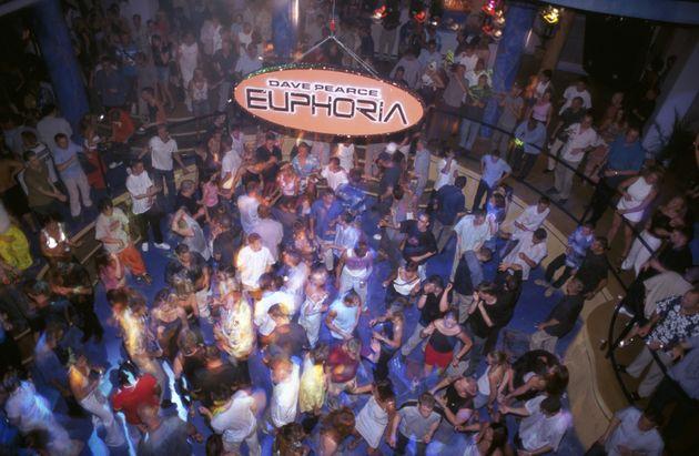 La discoteca Euphoria en Ibiza, en una imagen de