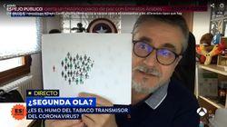 El inmunólogo Alfredo Corell se moja sobre si es acertada la prohibición de fumar: mira las personas dibujadas en