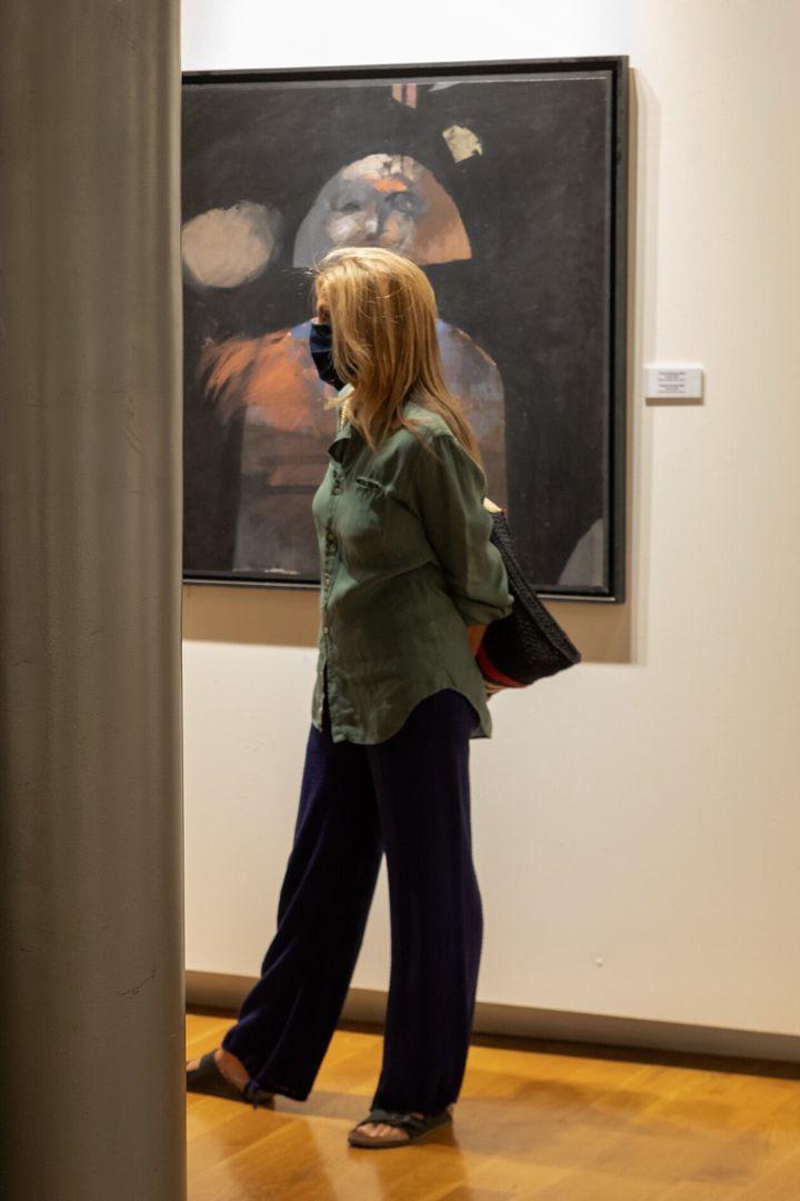 Η Μαρέβα Γκραμπόφσκι - Μητσοτάκη στην Δημοτική Πινακοθήκη Χανίων