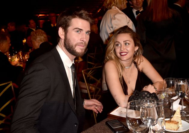 Hemsworth and Cyrus attend the 16th annual G'Day USA Los Angeles Gala on Jan. 26, 2019, in Culver