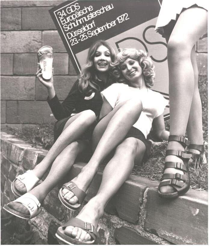 Έκθεση παπουτσιών στην Γερμανία, το 1972.