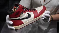 Cette paire de Air Jordan 1 est la plus chère au