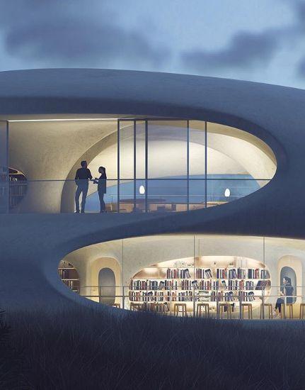 «Βιβλιοθήκη-Σκουληκότρυπα»