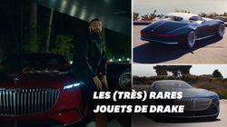 Drake conduit le concept-car Mercedes-Maybach à 5 millions dans son nouveau