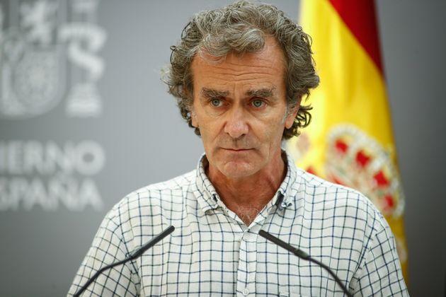 Fernando Simon, en una rueda de