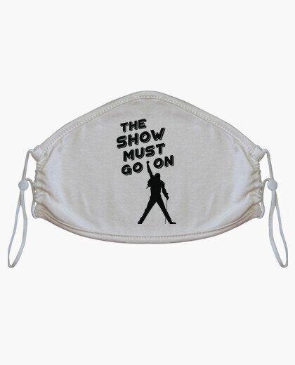 La mascarilla con 'The Show Must go