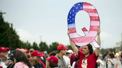 Trump Refuses To Address QAnon, Praises Conspiracy-Supporting Republican
