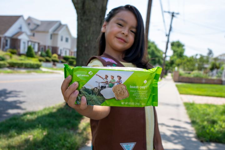 Girl Scouts will be selling cookies through online platforms with socially distant or contactless sales and delivery options in 2021. In-person sales may also be available if local guidelines permit.