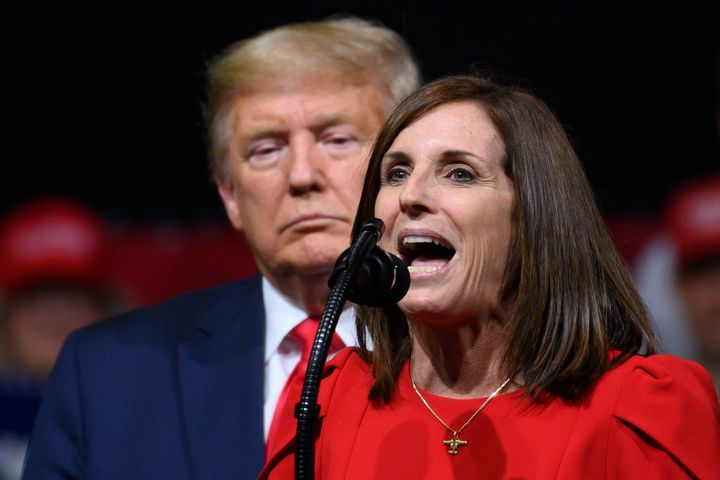 Senator Martha McSally (R-Ariz.) is still trying to make voters forget she supported Affordable Care Act repeal and rallied h