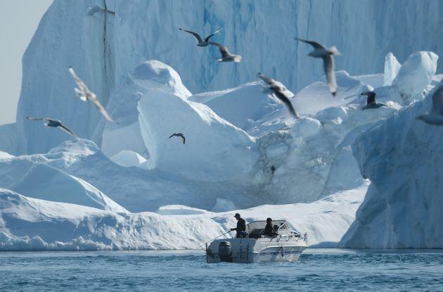 Ερευνα: Οι πάγοι της Γροιλανδίας έχουν λιώσει σε βαθμό μη