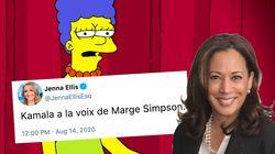 Vexée, Marge Simpson répond à une conseillère de Donald