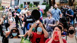 'Noise Demonstration' Held Outside Home Of U.S. Postmaster