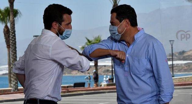 Casado choca el codo con Moreno