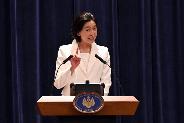 ドラマ『半沢直樹』で国土交通大臣・白井亜希子役を演じる俳優の江口のりこさん