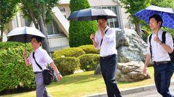 男性の日傘は、「恥ずかしい」?
