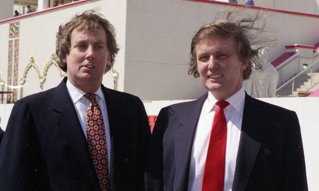 Robert y Donald Trump, en una foto de