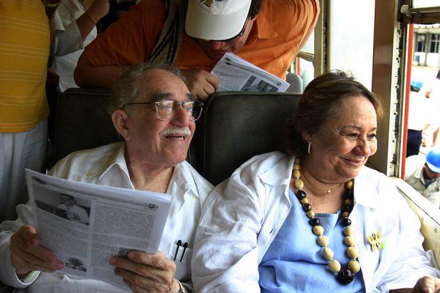 Mercedes Barcha, morta la moglie di Gabriel Garcia
