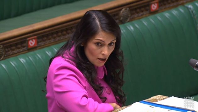 Priti Patel Says Migrants Crossing The Channel Fear They Will Be 'Tortured' In France