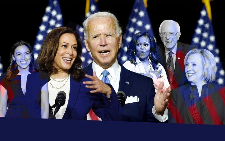 Plusieurs personnalités influentes du Parti démocrate prendront la parole (virtuellement) durant la convention.
