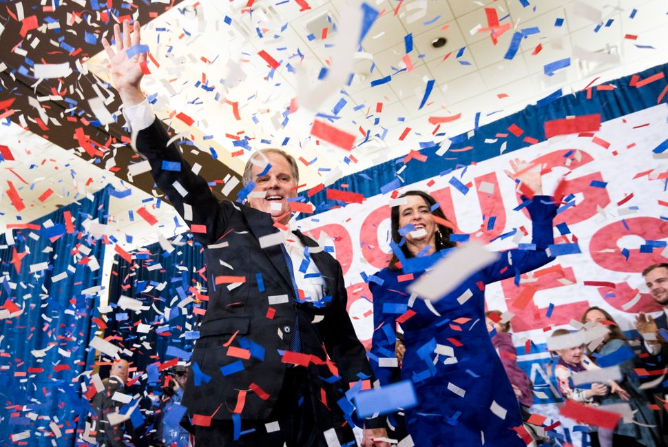 Alabama Sen. Doug Jones' victory in a 2017 special election was the political equivalent of drawing an inside straight.