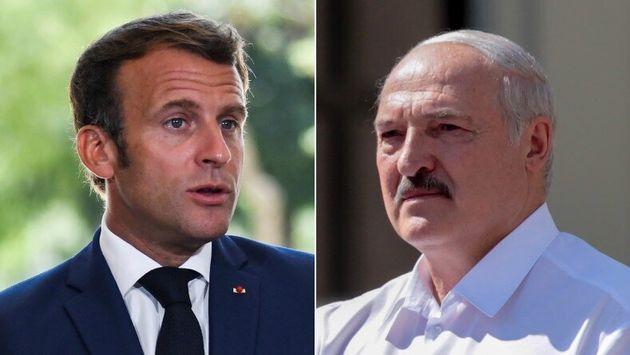 """Emmanuel Macron appelle l'UE à """"continuer de se mobiliser"""" aux côtés des manifestants en"""