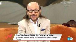 Santiago Segura desmiente en 'Viva la vida' uno de los últimos rumores:
