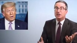 John Oliver Exposes The Trump-Sized Hole In The 'Bats**t Theories' Of