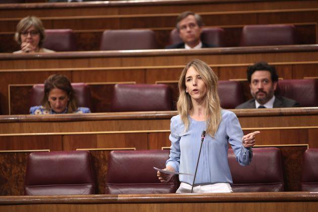 La portavoz del PP en el Congreso, Cayetana Álvarez de Toledo, el pasado 10 de junio en el