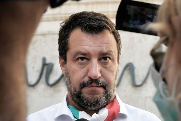Lega Party leader Matteo Salvini, on July 28 in