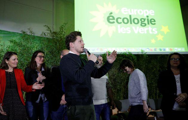 Julien Bayou, secrétaire national d'EELV, à Paris en novembre