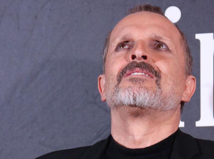 Miguel Bosé, en la gala de la Fundación Lluita contra el Sida de 2016.