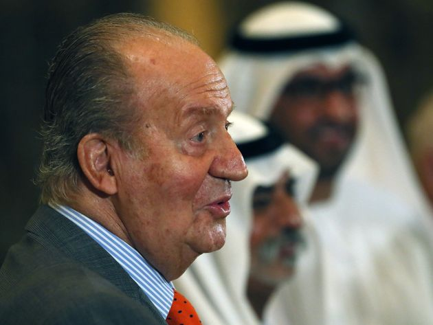 Juan Carlos, ici en 2014 à Abu Dhabi lors du Spain Economic