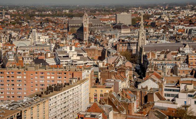 Une vue aérienne de Lille. (photo