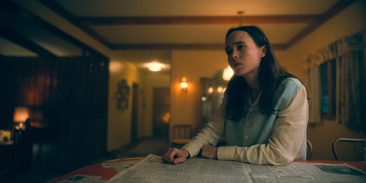 """Ellen Page in """"The Umbrella Academy"""" on Netflix."""