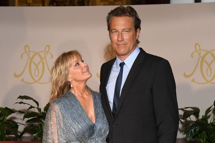 "Bo Derek and John Corbett have been dating for 18 years. ""We take things day by day,"" Derek said of the duo's relationship st"