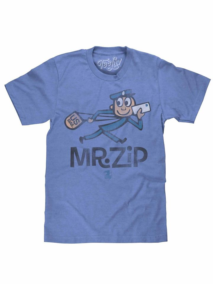 Mr. Zip T-shirt, $19.97
