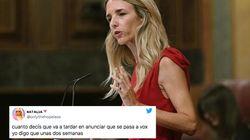 Twitter, dividido por la sustitución de Cayetana Álvarez de