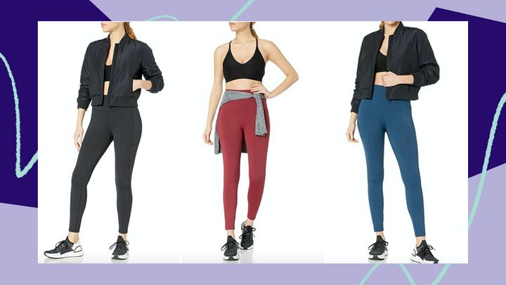 """We have a Huffpost-exclusive coupon code on <a href=""""https://amzn.to/3g6tMOu"""" target=""""_blank"""" rel=""""noopener noreferrer"""">Amazon's beloved Core10 high-waist leggings</a>.&nbsp;"""