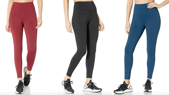 """Use code <strong>HUFFPOST20</strong> on&nbsp;<a href=""""https://amzn.to/3g6tMOu"""" target=""""_blank"""" rel=""""noopener noreferrer"""">Amazon's beloved Core10 high-waist leggings</a>&nbsp;to get them for 20% off, for just $20."""