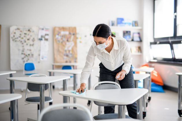 In many ways, school staff will be the new front-line workers as the pandemic continues into the