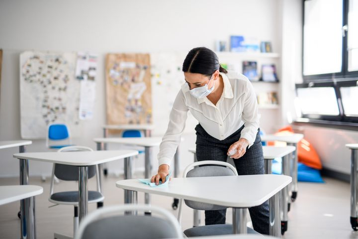 In many ways, school staff will be the new front-line workers as the pandemic continues into the fall.