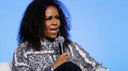 Michelle Obama e Bernie Sanders per