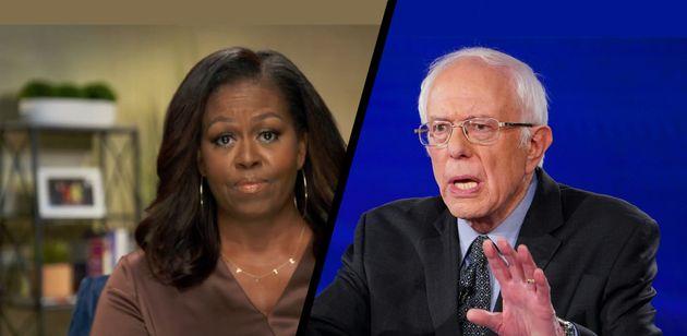 À la convention démocrate, Michelle Obama et Bernie Sanders unissent leurs