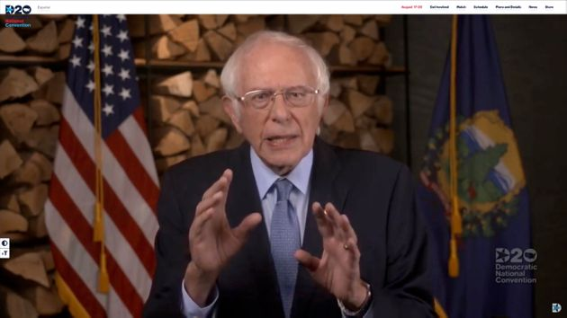 MILWAUKEE, WI - AUGUST 17: In this screenshot from the DNCC's livestream of the 2020 Democratic National...