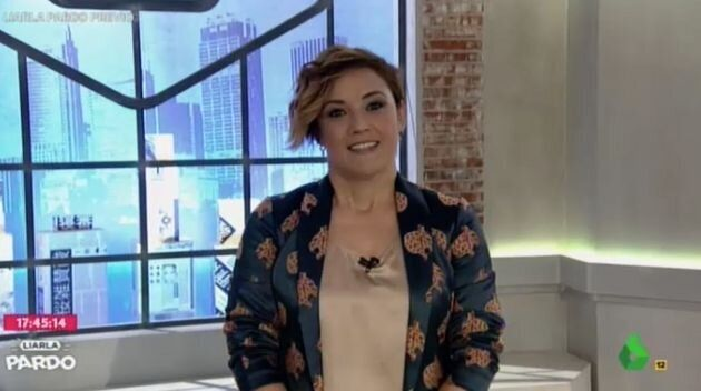 Cristina Pardo, en su programa en