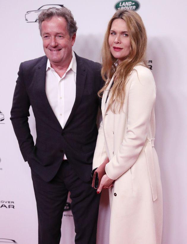 Piers Morgan and Celia